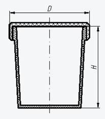 Фторопластовый бюкс