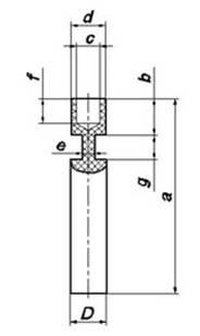 Фасонные нижние электроды различных типоразмеров